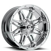 20x10 Fuel Wheels D530 Hostage 8x165.10 Chrome Plated -18 S41