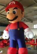 5m Customized Giant Inflatable Super Mario Inflatable Mario For Advertising U