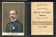 1888 N288 Buchner Police Inspectors Captains Fire Chiefs Capt Thomas Reilly 3020