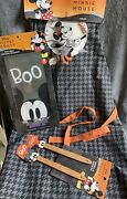Minnie Mouse Halloween Witch Apron Mickey Spatulas And Flexible Cutting Boards Boo