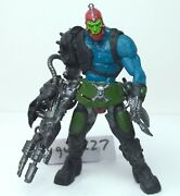 Motu Trap Jaw 200x Complete Figure He-man Masters Of The Universe Hook