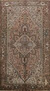 Antique Geometric Traditional Area Rug Oriental Carpet 8x11 Hand-knotted Wool