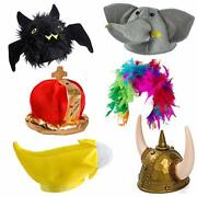 Funny Party Hats Costume Hats - Halloween Costume Hats - 6 Pack Photo Booth Up