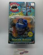New Vintage Mattel Street Sharks Trapjaw Ripster Night Fighters 1996 Series 6