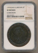 1797 Soho Great Britain 2 Pence. Ngc Xf Details