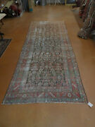 Antique Farahan Worn Rug 5and039 X 13and039 Rare Size Carpet Lovely Sof Colors