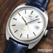 Schaffhausen Ref.1819 Vintage Cal.8541b Kanji Automatic Mens Watch Authentic