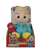 Cocomelon Musical Bedtime Jj Doll With Teddy Bear Ships Within 24 Hours