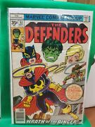 The Defenders Comic Book 51 Marvel Comics 1977 35 Cent Variant Vf