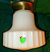 Cl-vv 1950and039s Mid Century Modern Ceiling Light Fixture Lamp Furniture Rare