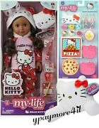 My Life As Hello Kitty 18 Poseable African American Doll Pillow + Sleepover Set
