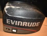 Evinrude 25 35 Hp 3-cyl Electric Start Outboard Cover Cowl 1996 1997 0284848
