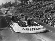 8b6-691 Pasadena Tourn Of Roses Parade Whittier End Of Perfect Day Float 8b6-691
