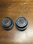 1970and039s Dodge Chrysler Plymouth - Radio Faux Wood Knob Pair