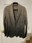 Peruvian Connection Women's One Button Coat 100 Wool Size 18