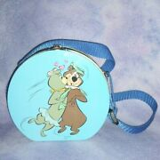 Yogi Bear And Cindy Metal Tin Lunchbox With Shoulder Strap 2003