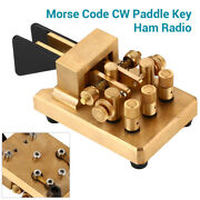 Magnetic Return Copper Iambic Double Paddles Keyer Dx-kv Cw Key Morse Code For