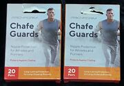 2 Packs Pro-form Chafe Guards Nipple Protection 20 Pairs Free Shipping