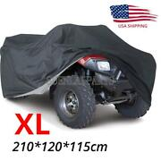 Xl Waterproof Atv Cover Universal For Yamaha Grizzly 350 450 550 600 660 700