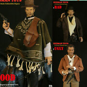 1/6 Redman Toys The Good The Bad And The Ugly West Cowboy Figure Collectible