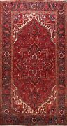 Vintage Geometric Traditional Area Rug Wool Hand-knotted Oriental Carpet 8x12