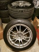 Oz Ultraleggera 18x9 Et40 Wheels With Centercaps In 5x120 For Bmw And Gm Cars