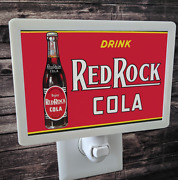 Drink Red Rock Cola Advertisement Sign 4x6 Photo Night Light