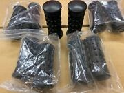 Kawasaki H1/h2 Set Of 5 Pairs Of Rubber Foot Rest Parte = 92076-019