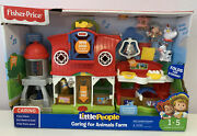 Fisher-price Little People Caring For Animals Farm Set Standard Packaging
