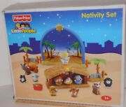 30 Off 2008 Fisher Price Little People Christmas Nativity Musical Light Set