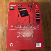 Plantronics Backbeat Go 2 Wireless Earbuds And Charge Case Bluetooth Black