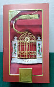Lenox Ornament Welcome First Year In The New Home 2008 Christmas Gate Nib Ol3