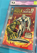 Tales To Astonish 93 Comic Book Cgc 9.6 Silver Age Classic Cover Silver Surfer