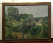 Original Art By Stephen Kuzma American 1933- Oil On Canvas Signed And Dated '71