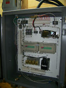 Residential Elevator 4 Stop Hyd. Controller Landing Cont. System Wire And More.