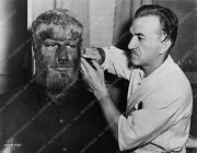 1737-28 Jack Pierce Makeup Prep With Lon Chaney Jr. For The Wolfman 1737-28 1737