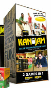 Kan Jam 2 In 1 Ultimate Disc Game Original And Gliders Indoor/outdoor Value Pack.