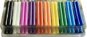 Church And Christmas Multicolor Candle Indian Festival Decorative Candles Lot