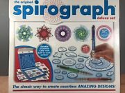 Spirograph Deluxe Set. Used Complete Except For Putty Euc 2