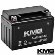 12v Battery Kmg Motorcycle Scooter Atv Snowmobile Mowers Pwc Watercraft Yt12a-bs