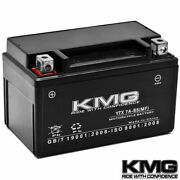 12v Battery Kmg Motorcycle Scooter Atv Snowmobile Mowers Pwc Watercraft Ytx7a-bs