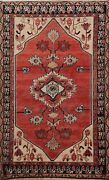 Antique Geometric Traditional Hand-knotted Area Rug Home Decor Oriental Wool 5x6