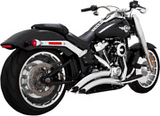 Vance And Hines Big Radius 2-into-2 Chrome Exhaust 2018+ Fat Boy And Breakout 26075