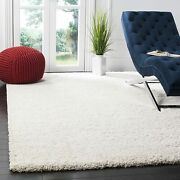 Safavieh Milan Shag Collection Sg180-1212 2-inch Thick Area Rug 8and039 X 10and039 Ivory