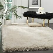 Safavieh Luxe Shag Collection Sgx160b Handmade 3.15-inch Extra Thick Area Rug, 8