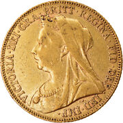 [874510] Coin, Great Britain, Victoria, Sovereign, 1901, London, Ef, Gold