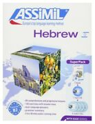 Hebrew With Ease - Best And Rare Language Course Cds/book Package Assimil English