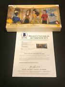 Paige Oand039hara Robby Benson Cast Disney Beauty And The Beast Signed Autograph Doll