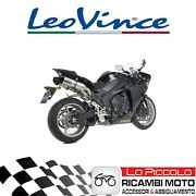 Pair Terminals Exhaust System Leovince Lv One Evo Yamaha Yzf-r1 2013 Approved