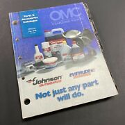 Omc Genuine Parts And Accessories Catalogue Outboards Motor Propellers P/n 98500